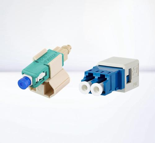 Plugs and jacks for network cabling | Fiber optic