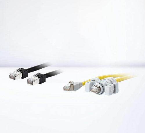 Cordon de brassage Ethernet industriel RJ45