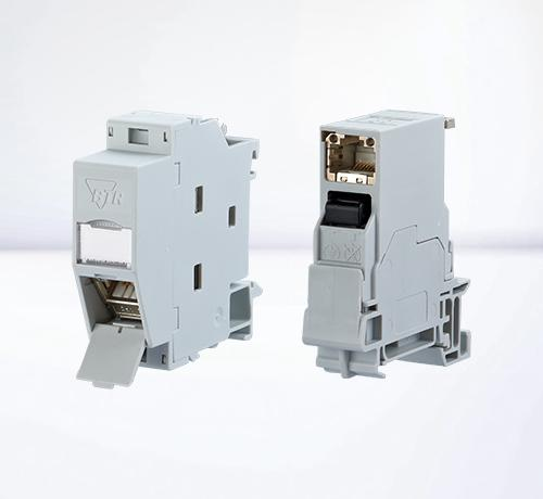 DIN rail housings | RJ45