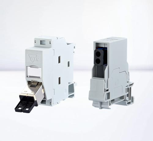DIN rail housings | Fiber optic REGplus