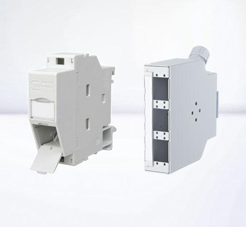 DIN rail housings | Empty housings