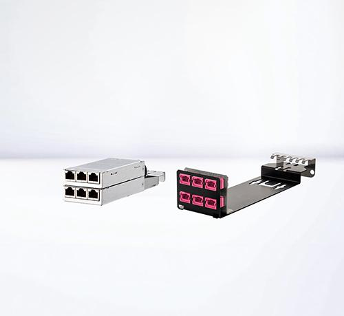 Patch panels | DCCS compact solutions with high packing density