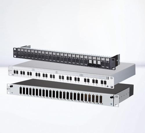 Patch panels | Empty housings and module frames
