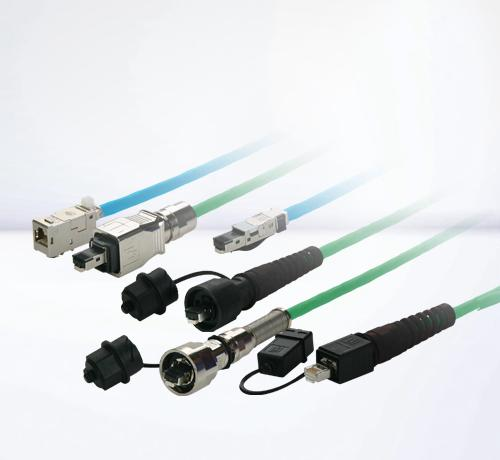RJ45 industrial cables IP67 | IP20