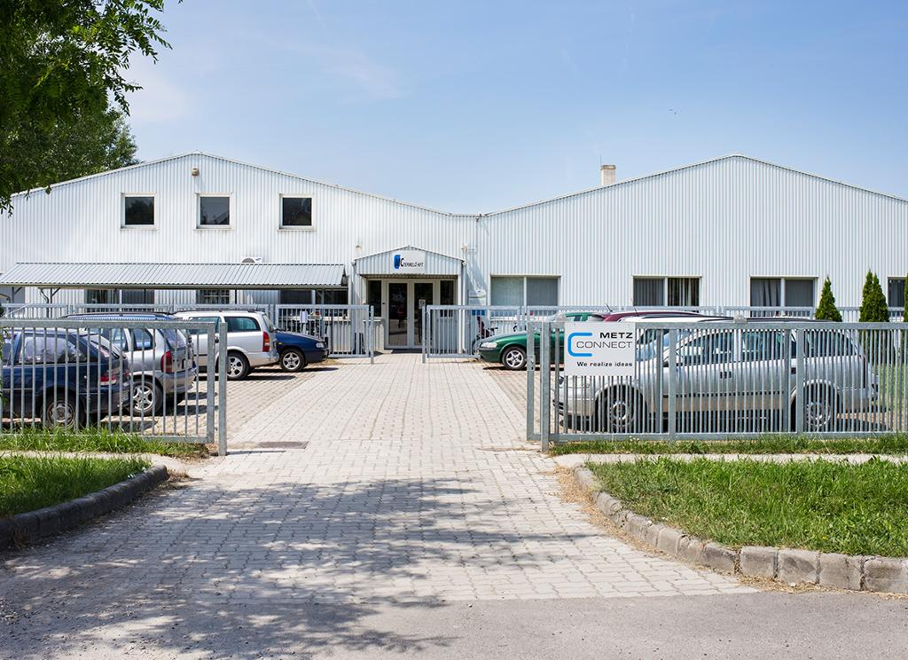 Extension of the production facility in Hungary