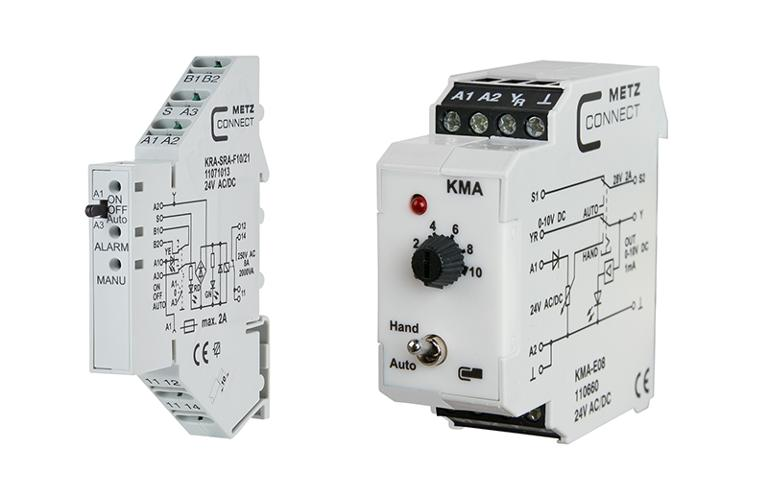 Coupling relays & interface modules