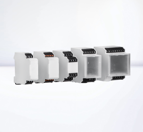 DIN rail housings